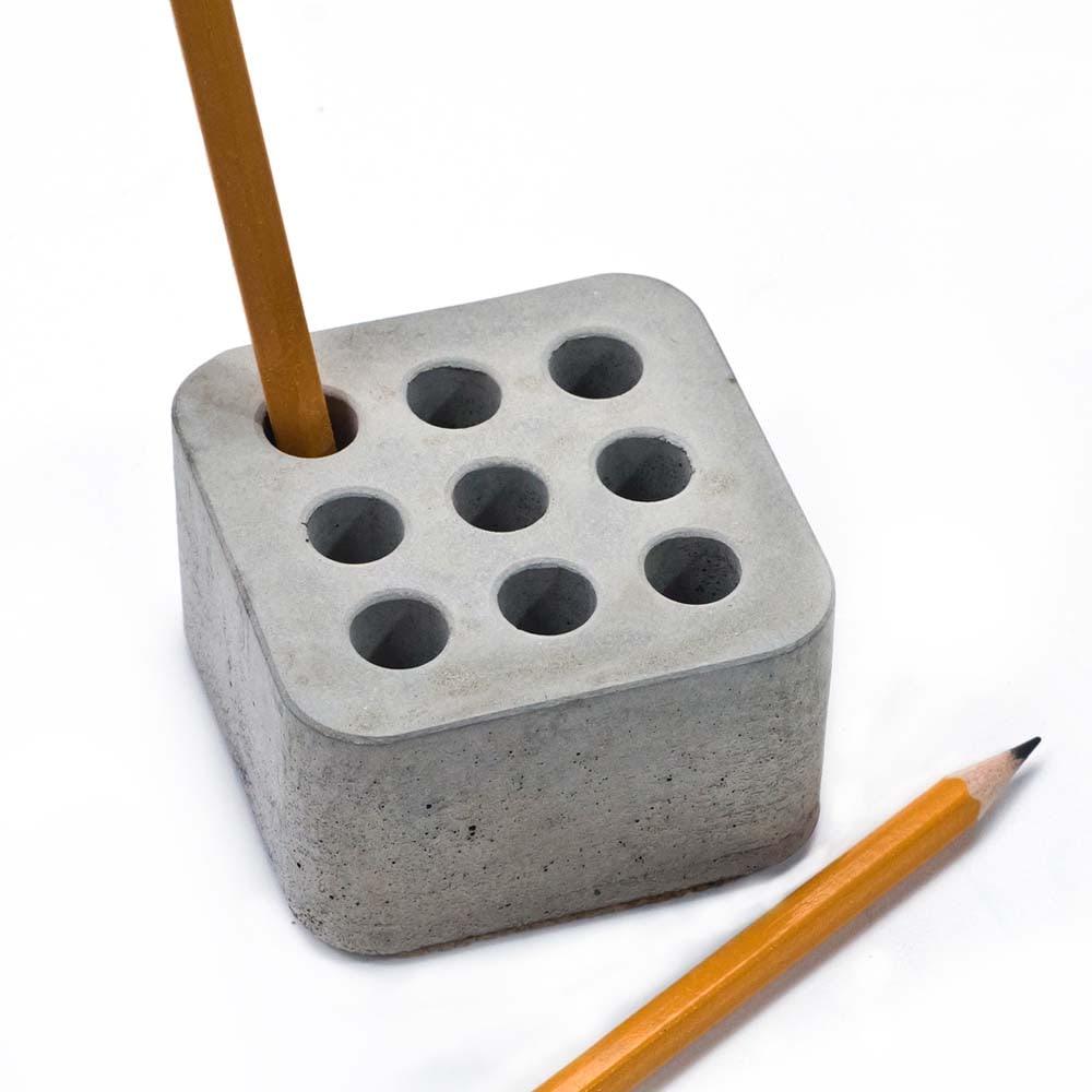 Карандашница из бетона родники бетон