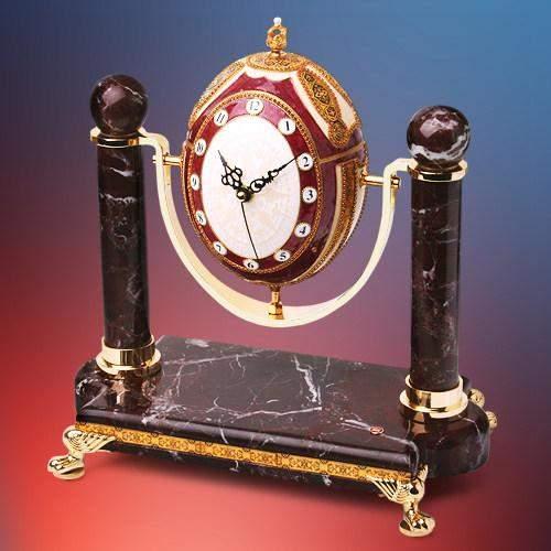 Часы-шкатулка В ЧЕСТЬ ФАБЕРЖЕ (Credan)