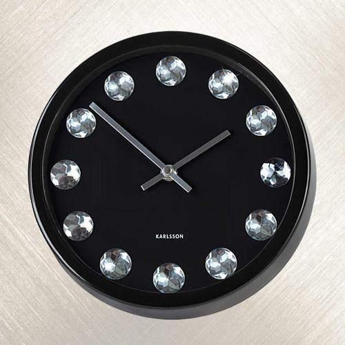 Часы настенные КАЖДЫЙ ЧАС, КАК АЛМАЗ (сталь)