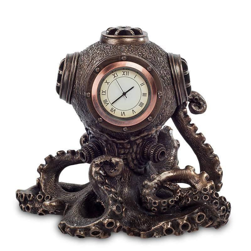 """Статуэтка-часы в стиле Стимпанк """"Живое время"""""""